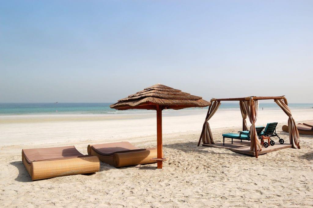 Praia em Ajman