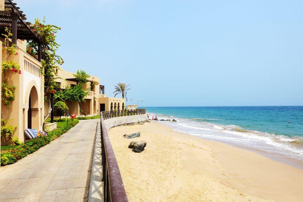 Hotel na Praia em Fujairah