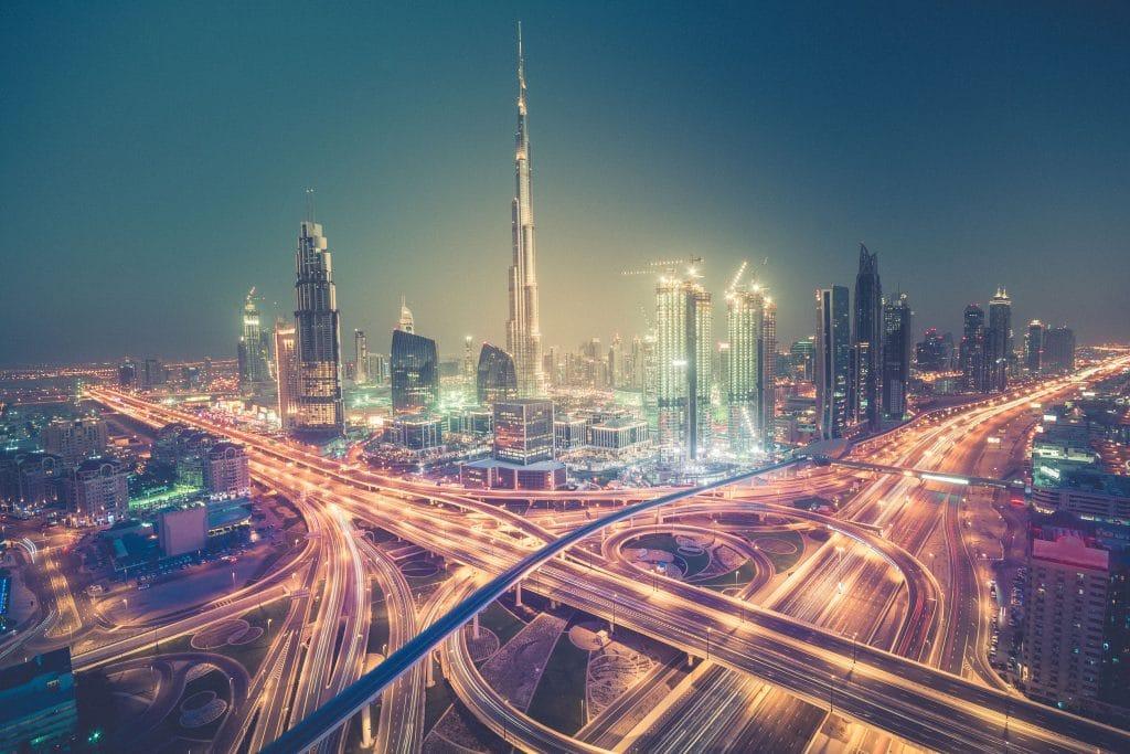 Burj Khalifa no Dubai