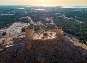 Forte Dhayah em Ras Al Khaimah