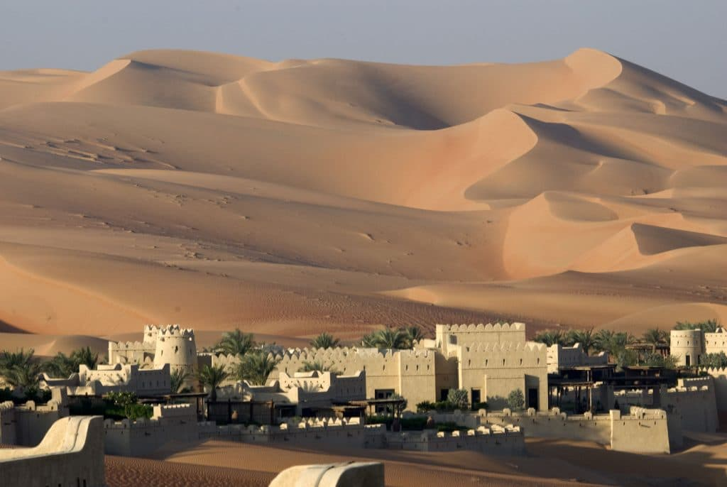 Deserto em Abu Dhabi