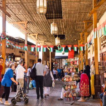 Mercado no Dubai