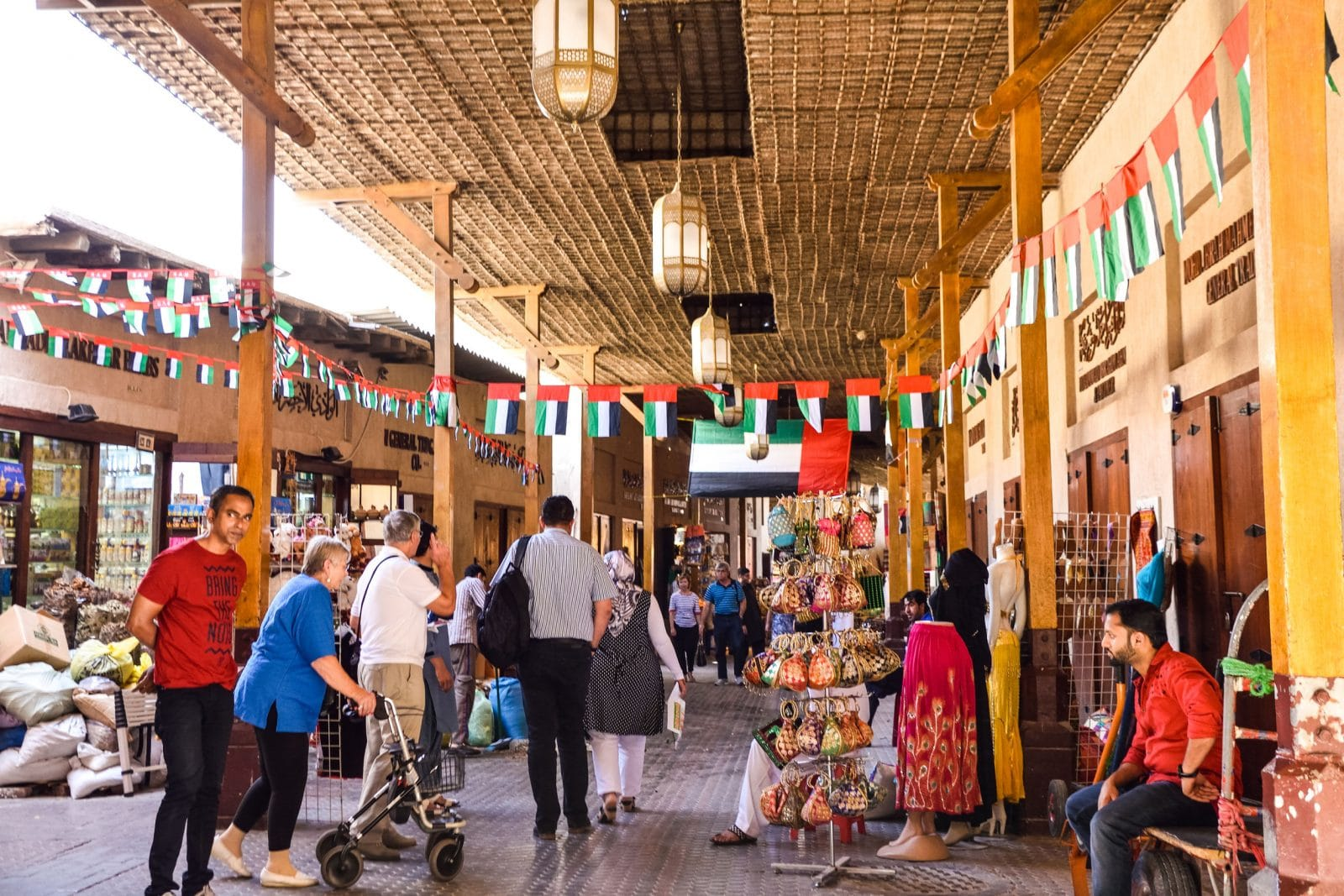 Mercado no Dubai