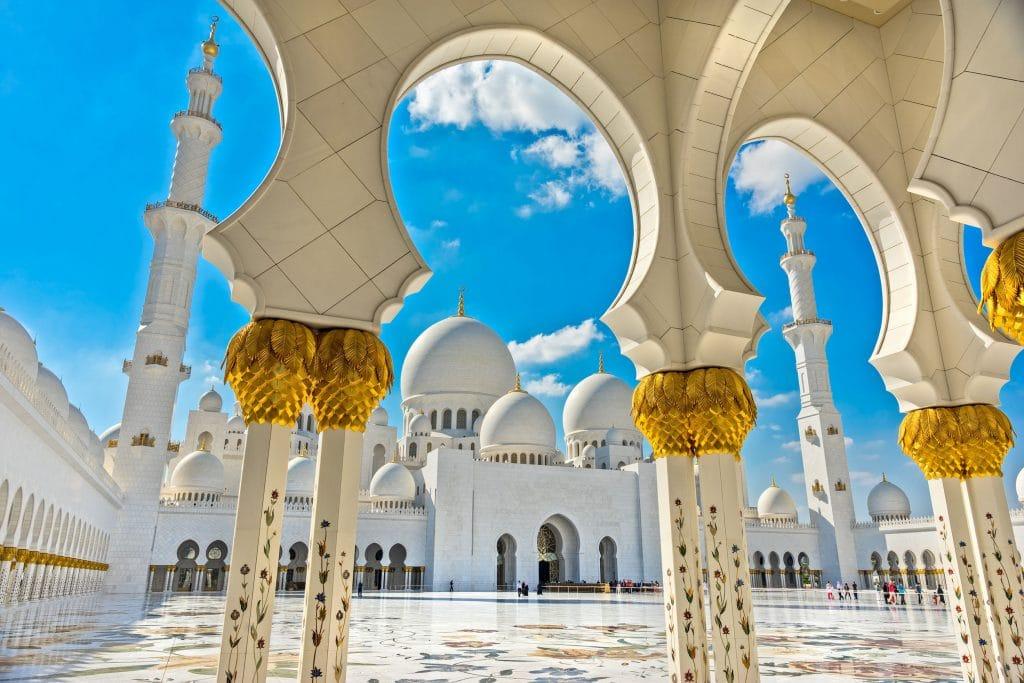 Mesquita Sheikh Zhayed em Abu Dhabi