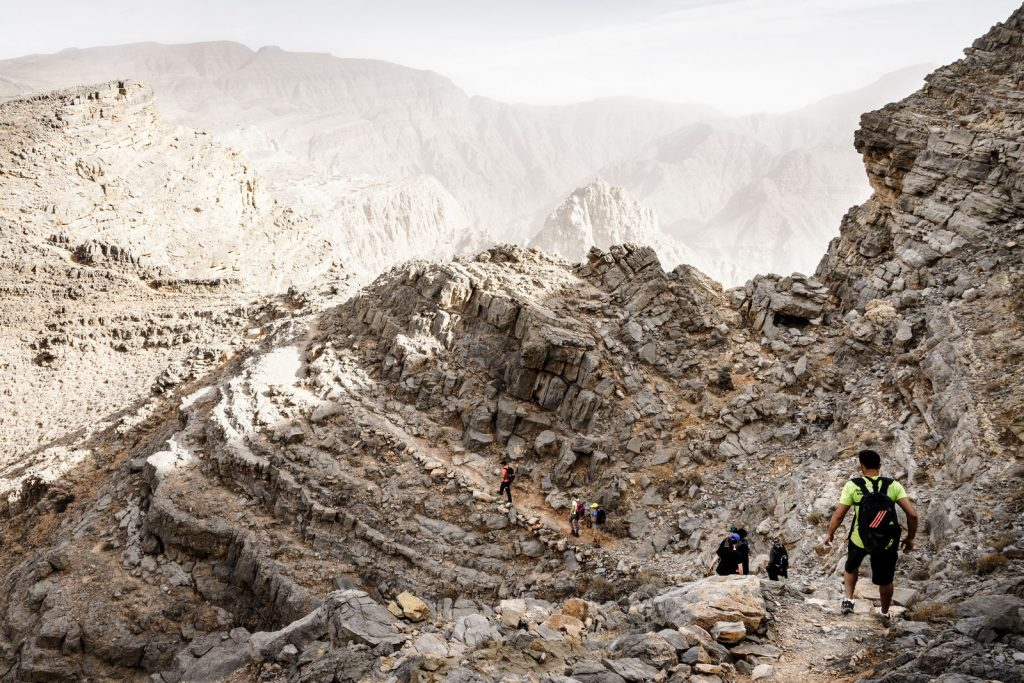 Montanha jebel Hajar