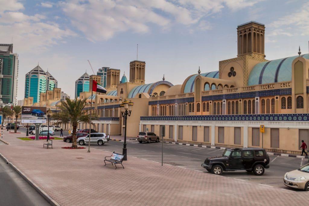 Souq Al Markazi em Sharjah