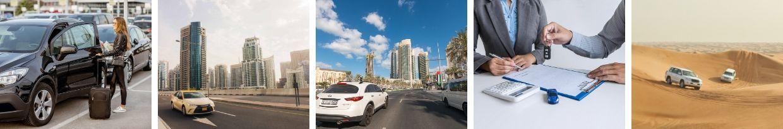 Antes de alugar um carro no Dubai